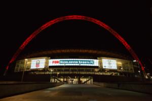 MSC Wembley in Lights