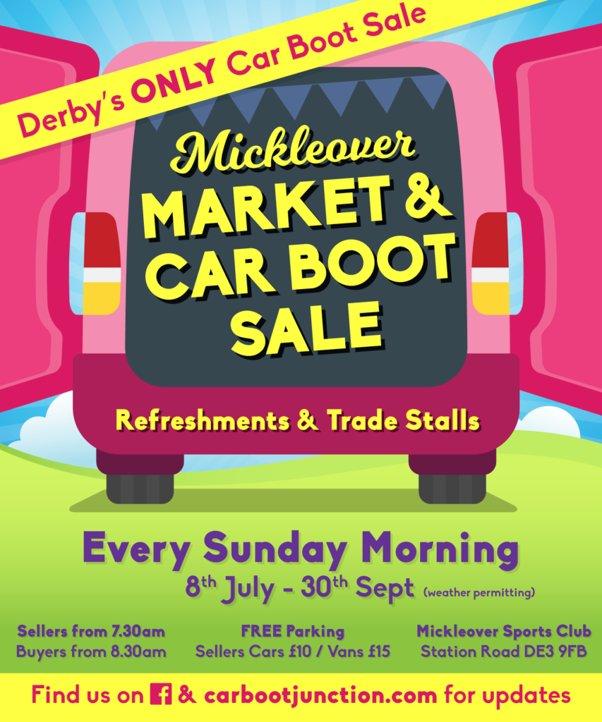 Mickleover Market Car Boot Sale Mickleover Sports Football Club