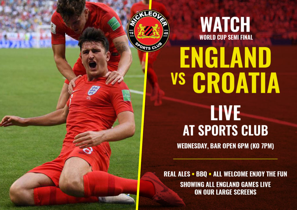 MSC England V Croatia Live