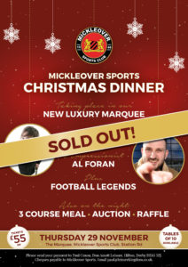 MSC Christmas Dinner SOLD OUT web